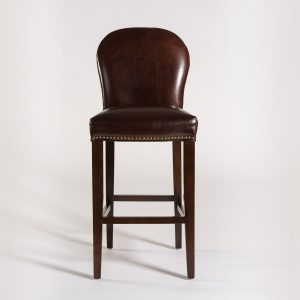 alder-tweed-clarmont-bar-stool-brownleather-front