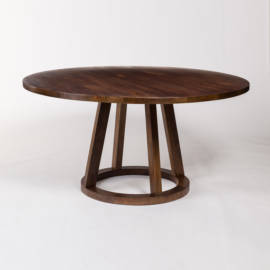 Mendocino 60 Round Dining Table Alder Amp Tweed Furniture