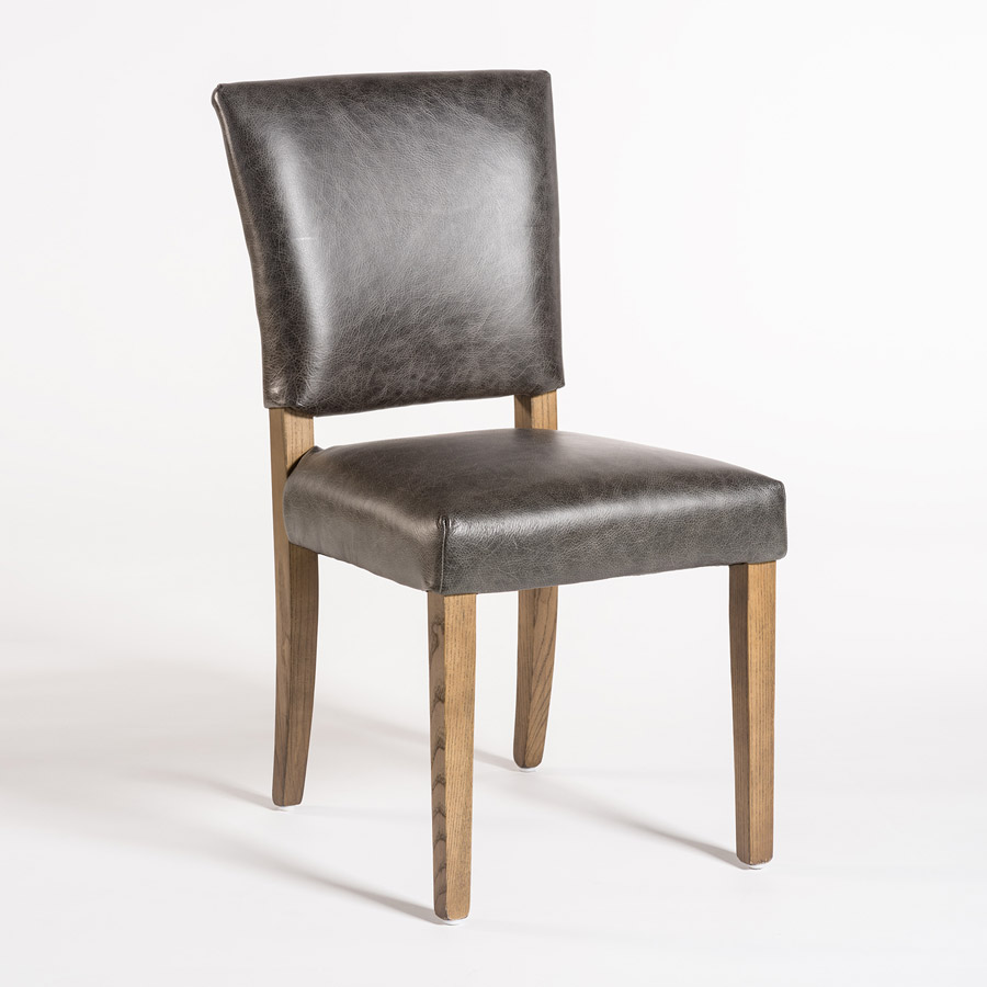 Richmond dining chair alder tweed furniture