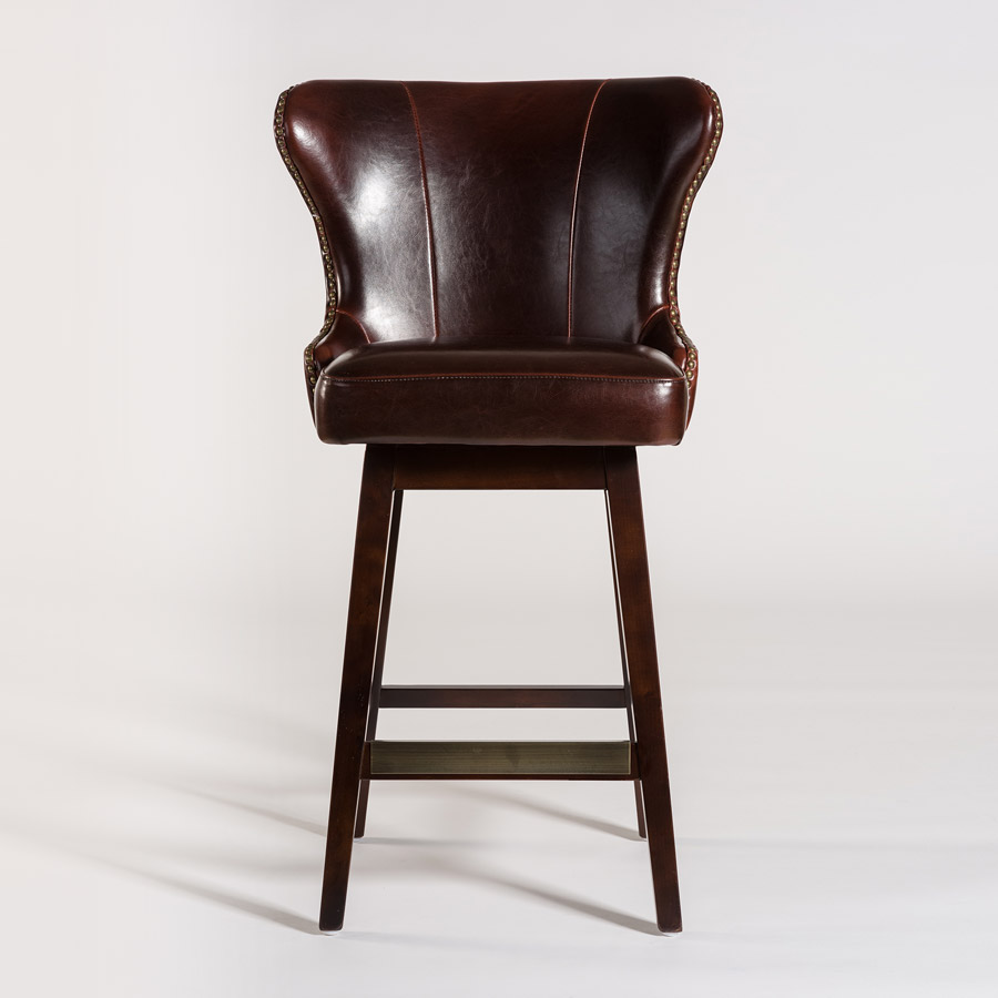Rockwell Swivel Bar Stool Alder Amp Tweed Furniture