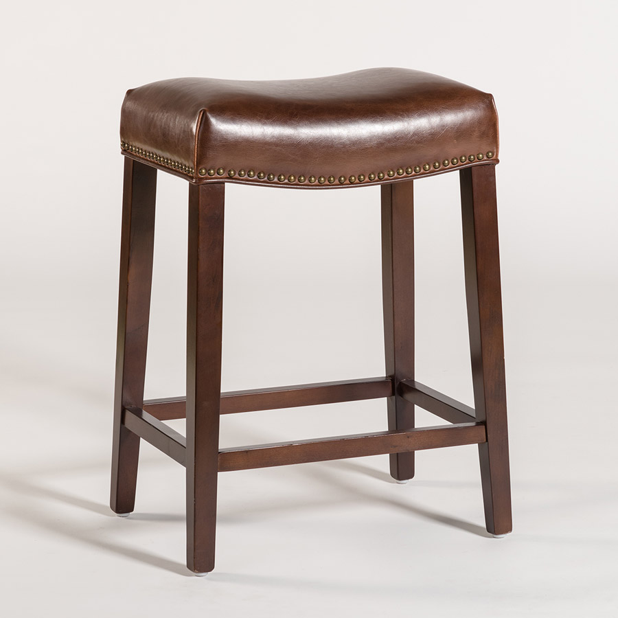 Saddle Bar Stool Alder Amp Tweed Furniture