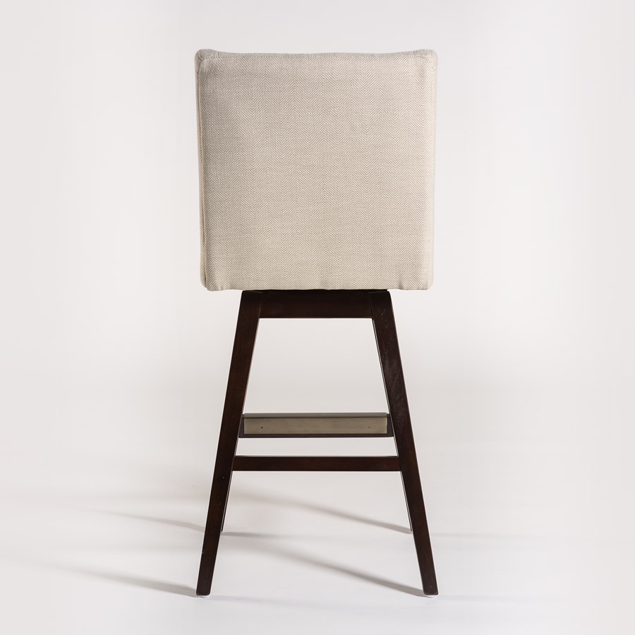 Tribeca Swivel Bar Stool Alder Amp Tweed Furniture