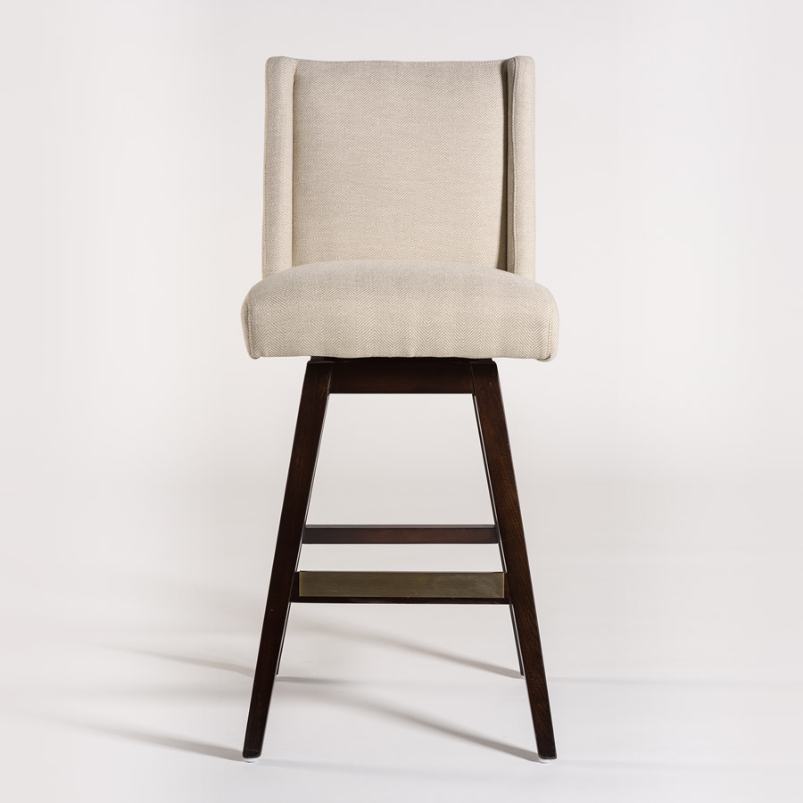 Tribeca Swivel Counter Stool Alder Amp Tweed Furniture