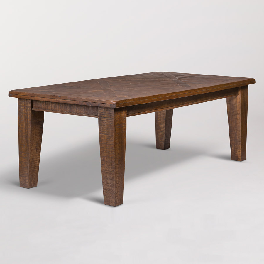 Alder Tweed Calistoga Dining Table 3 4