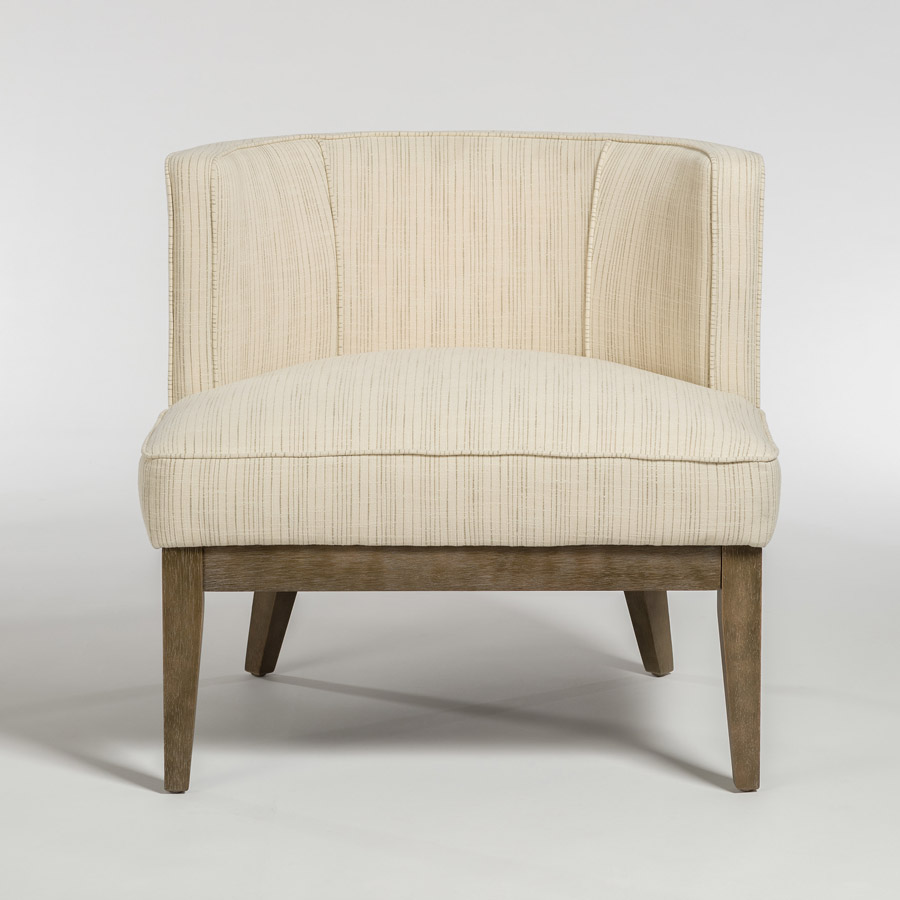 Bon Alder Tweed Chandler Chair Front