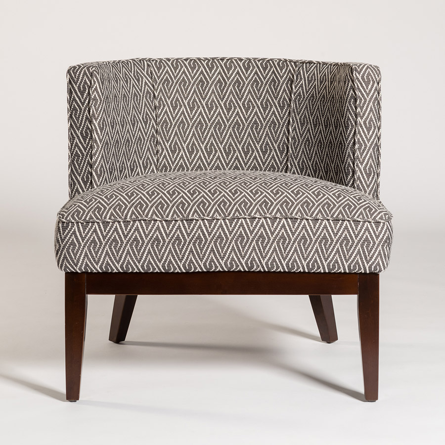 Exceptionnel Alder Tweed Chandler Chair Front