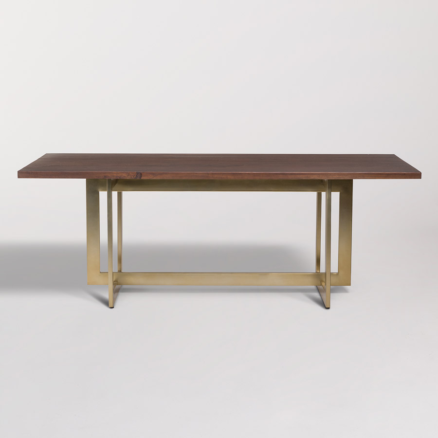 Manhattan Dining Table Alder Amp Tweed Furniture