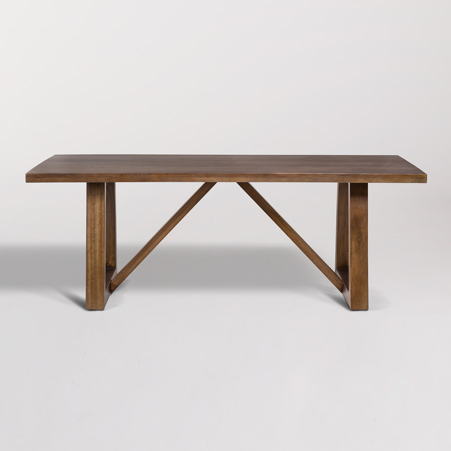Mendocino 84 Rectangular Dining Table Alder Amp Tweed