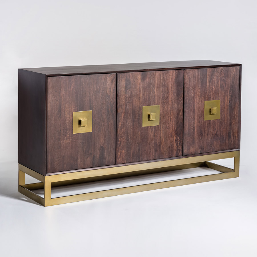 westchester sideboard alder tweed furniture. Black Bedroom Furniture Sets. Home Design Ideas
