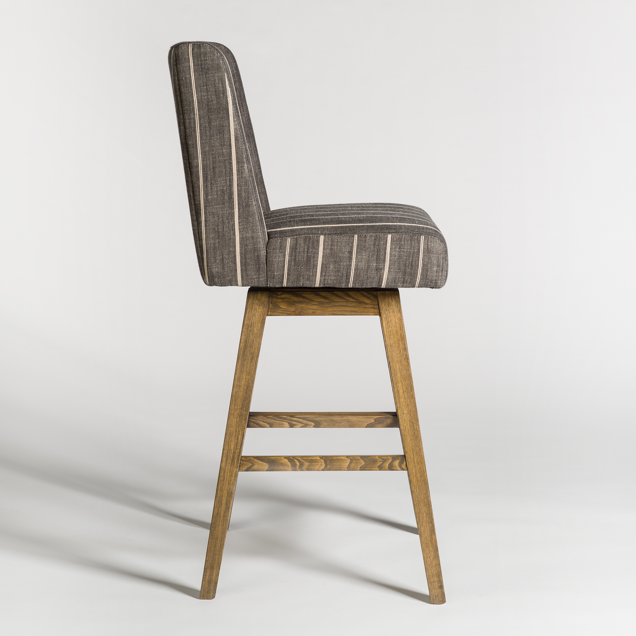 Tribeca Swivel Bar Stool – Alder & Tweed Furniture