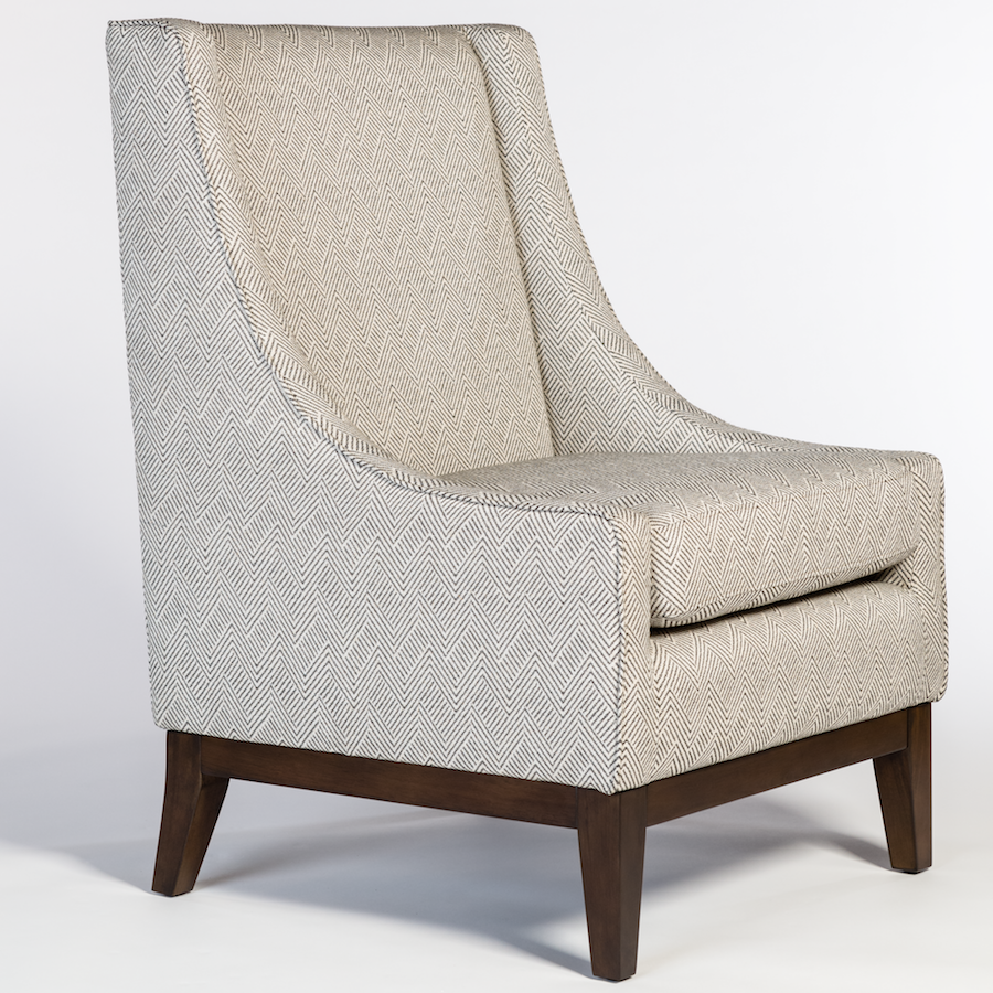 Houston Occasional Chair Alder Amp Tweed Furniture