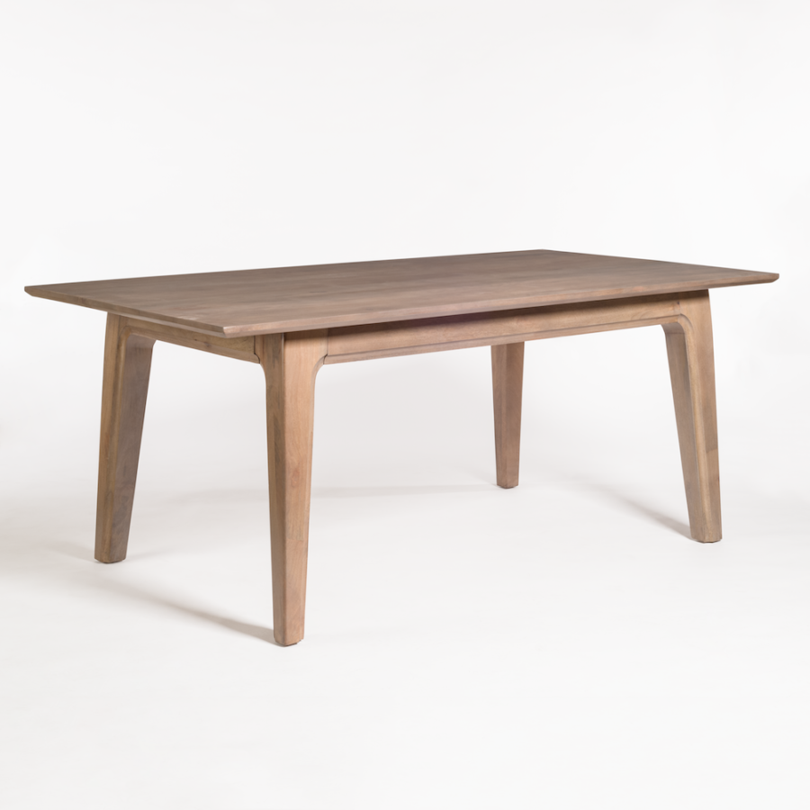 72 dining table hamptons style dining maxwell 72u2033 dining table alder tweed furniture