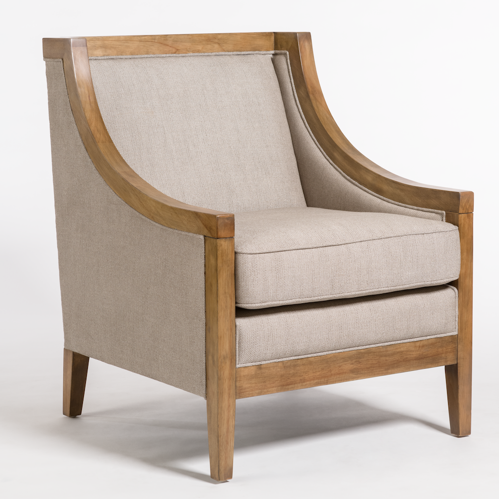 Addison occasional chair alder tweed furniture for Occasional furniture