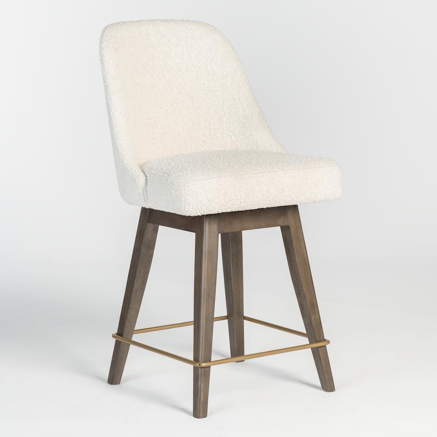 Jackie Swivel Counter Stool Alder Amp Tweed Furniture