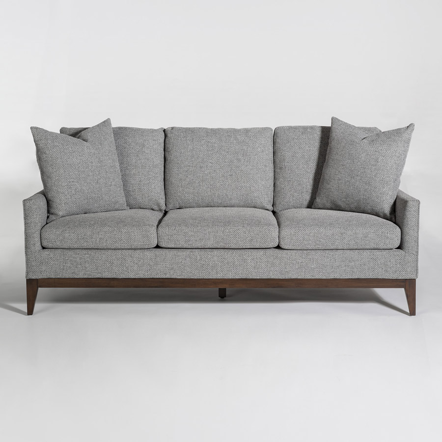 Charmant Alder Tweed Portsmouth Sofa Front