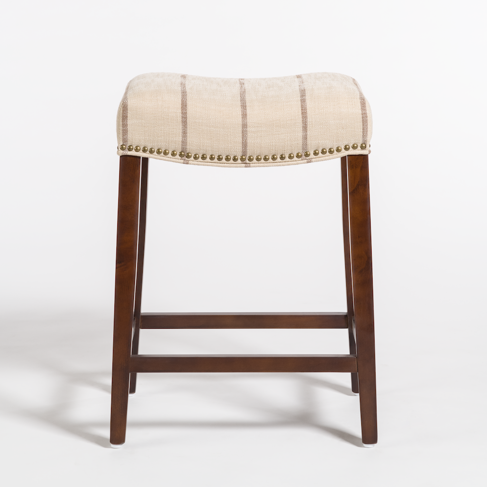 Saddle Counter Stool Alder Amp Tweed Furniture