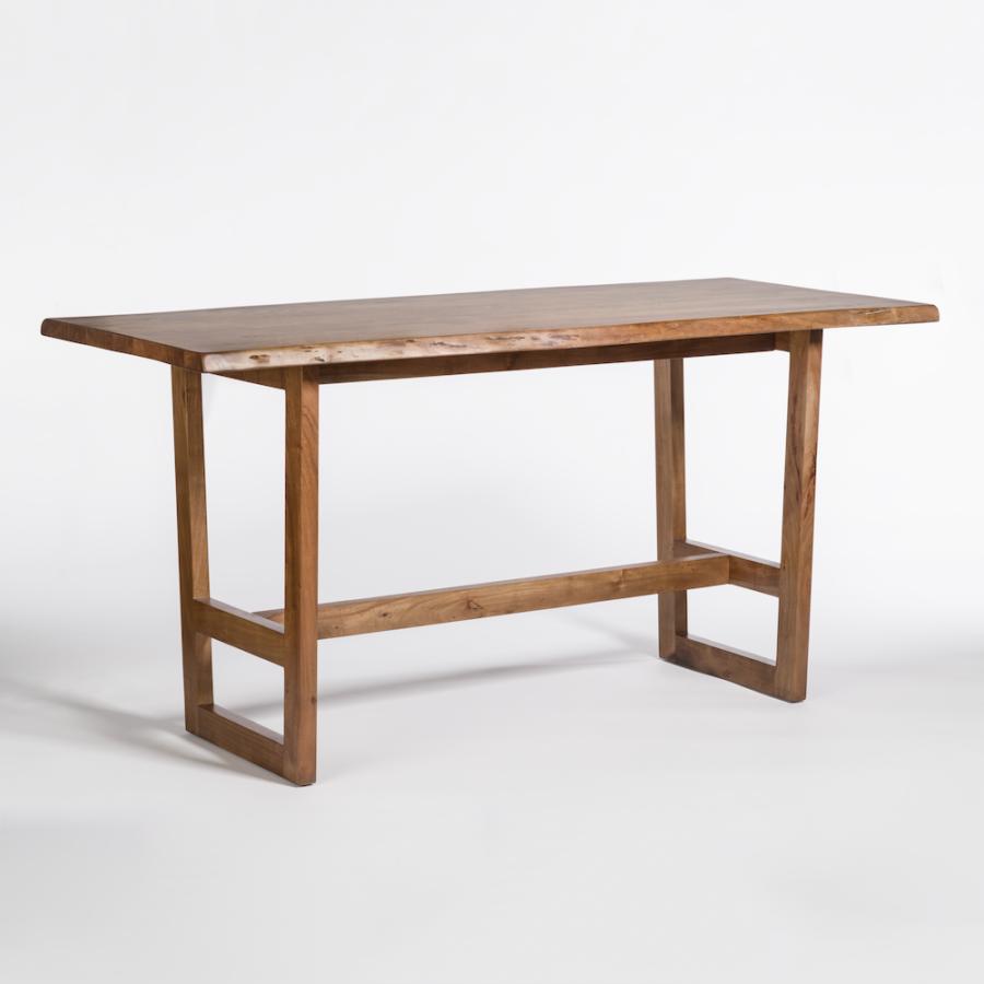 Aspen 72 Live Edge Gathering Table Alder Tweed Furniture