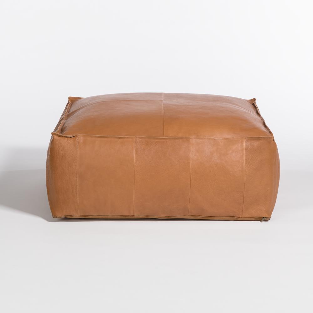 Magnificent Barret Large Pouf Ottoman Alder Tweed Furniture Customarchery Wood Chair Design Ideas Customarcherynet